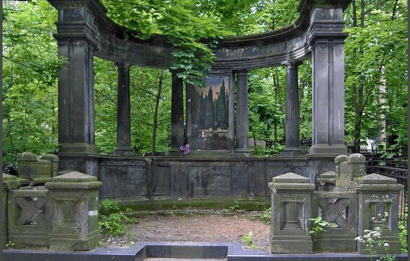 5.08 (вс) в 11:30. Немецкое кладбище и его окружение