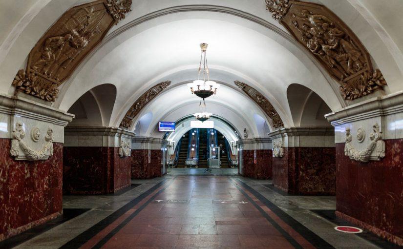 01.03 (чт) 19:00 Большой сталинский стиль в московском метро