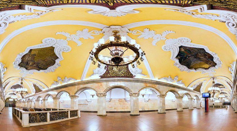 Абонемент на 4 экскурсии по линиям Московского метро